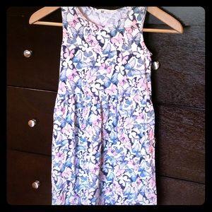 H&M girls butterfly lightweight summer dress